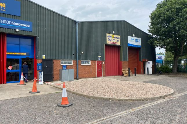 Thumbnail Industrial to let in Unit 7 Cleveland Trading Estate, Cleveland Street, Darlington