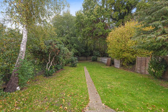 Garden of Woodlands Avenue, West Byfleet KT14