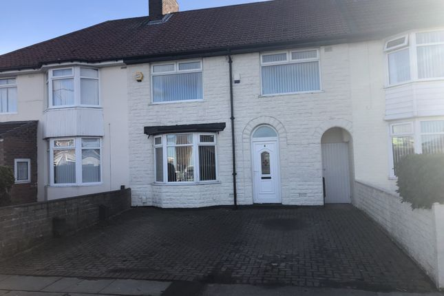 Thumbnail Terraced house for sale in Carsington Road, Liverpool