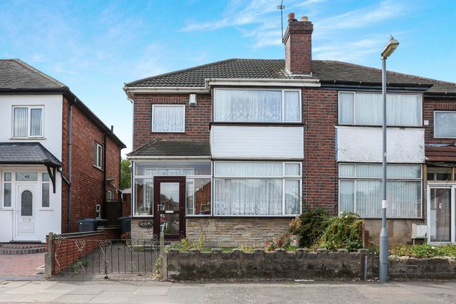 Thumbnail Semi-detached house for sale in Bordesley Green East, Stechford, Birmingham