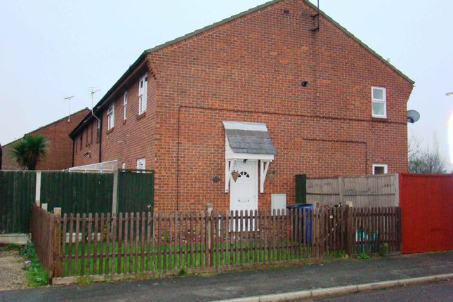 Thumbnail End terrace house to rent in Shaw Crescent, Tilbury, Essex