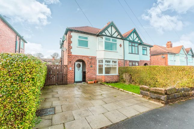Thumbnail Semi-detached house to rent in Sandileigh Avenue, Hale, Altrincham