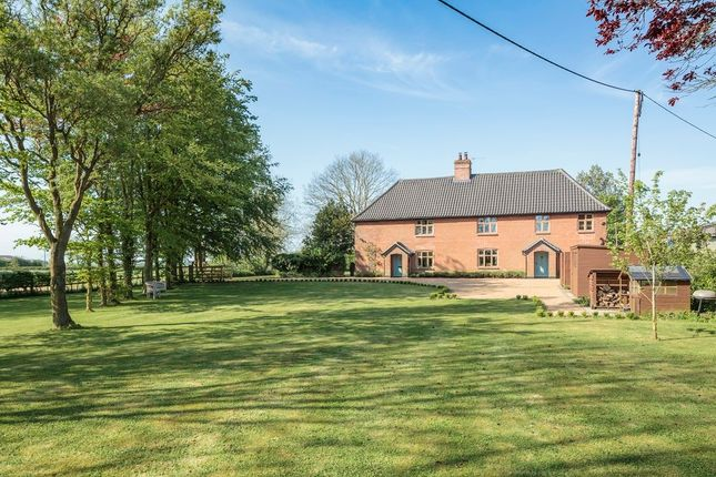 Thumbnail Detached house for sale in The Street, Alburgh, Harleston