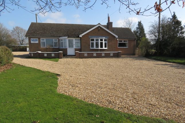 Thumbnail Bungalow for sale in Lutterworth Road, Cosby, Leicester