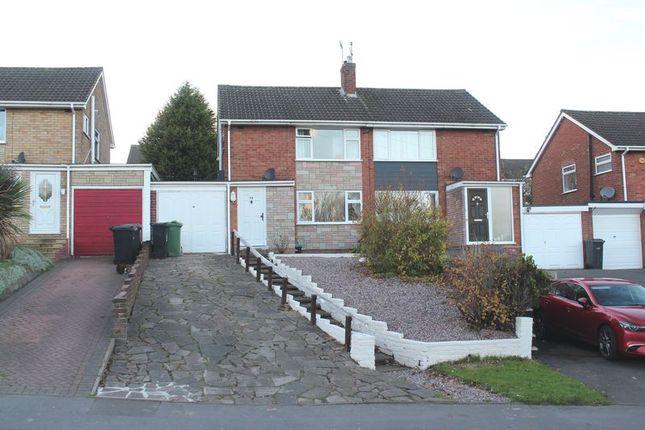 Thumbnail Semi-detached house for sale in Bells Lane, Wordsley, Stourbridge