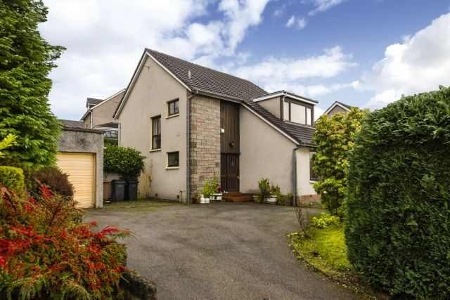 Thumbnail Detached house for sale in Baillieswells Road, Bieldside, Aberdeen, Aberdeenshire
