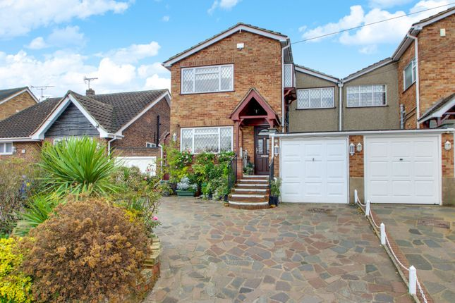 Thumbnail Link-detached house for sale in Grove Road, Benfleet