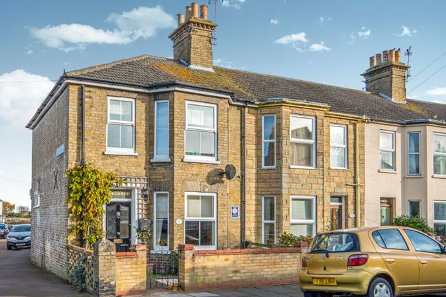 Thumbnail End terrace house to rent in Florence Road, Lowestoft