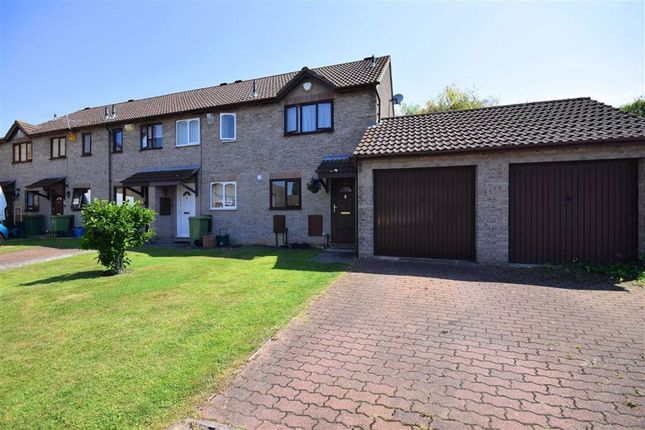 Thumbnail End terrace house for sale in Swallowtail Close, Cheltenham, Gloucestershire