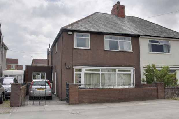 Thumbnail Semi-detached house for sale in Williamthorpe Road, Chesterfield, Derbyshire