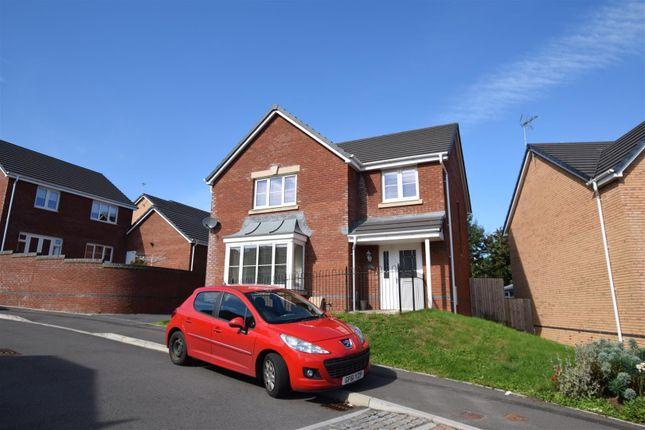Thumbnail Detached house to rent in Heol Miaren, Llanharry, Pontyclun