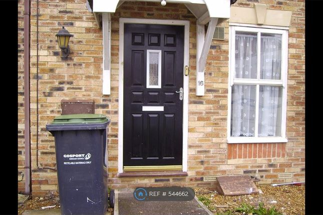 Thumbnail Terraced house to rent in Fairlead Drive, Gosport