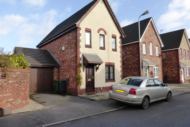 Thumbnail Link-detached house for sale in Locke Grove, St. Mellons, Cardiff