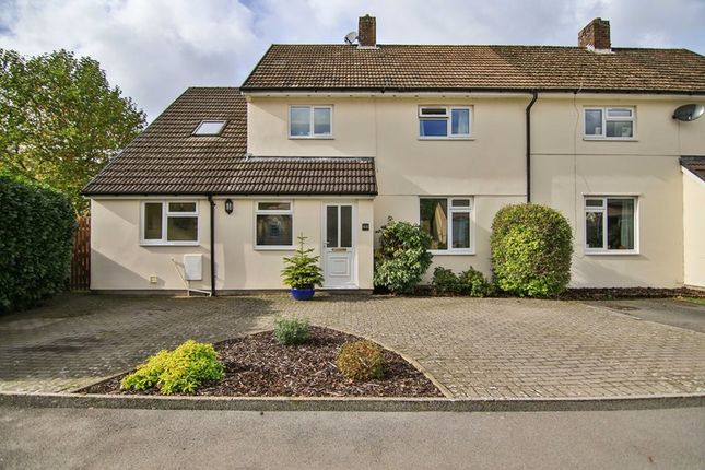 Thumbnail Semi-detached house for sale in Martell Way, Glangrwyney, Crickhowell