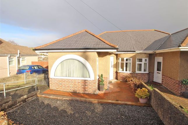 Thumbnail Semi-detached bungalow for sale in Highbury Crescent, Plympton, Plymouth