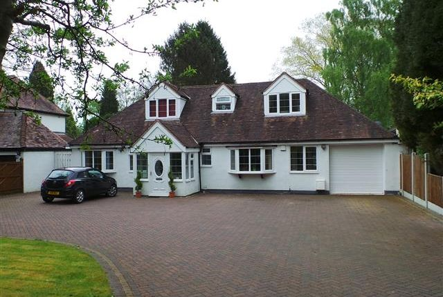 Thumbnail Detached bungalow for sale in Rosemary Hill Road, Four Oaks, Sutton Coldfield