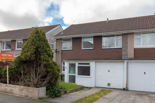 Thumbnail Semi-detached house for sale in Long Park Close, Goosewell, Plymstock