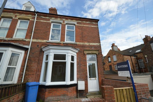Thumbnail End terrace house to rent in Fairfield Road, Bridlington