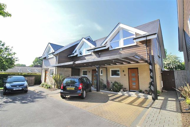 Thumbnail End terrace house for sale in Forest View, Christchurch
