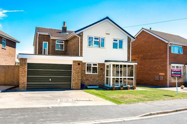 Thumbnail Detached house for sale in Byron Avenue, Warton, Preston, Lancashire