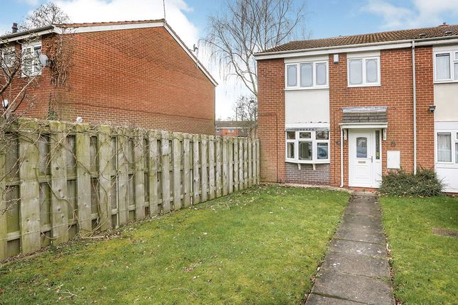Thumbnail End terrace house for sale in The Glade, Pendeford, Wolverhampton, West Midlands