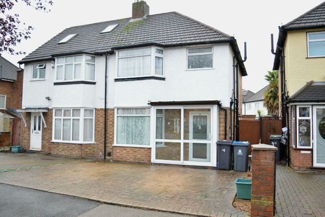 Thumbnail Semi-detached house to rent in Hunters Road, Chessington