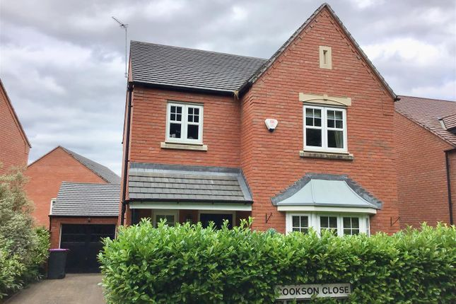 Thumbnail Detached house for sale in Cookson Close, Muxton, Telford