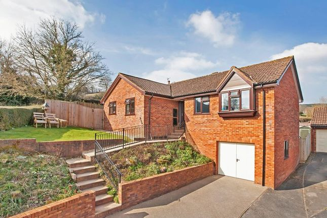 3 bed detached bungalow for sale in Cranmore View, Ashley, Tiverton