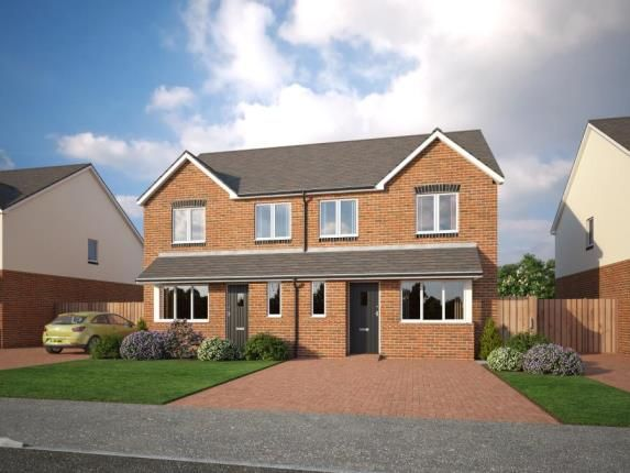 Thumbnail Semi-detached house for sale in Holmleigh Close, Cheshire Lane, Buckley, Clwyd