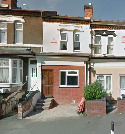 Thumbnail Terraced house to rent in Warwick Road, Birmingham
