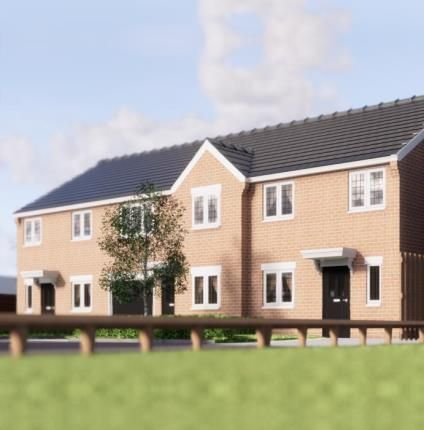 Thumbnail End terrace house for sale in Mayfield Gardens, Mayfield Close, Chaddesden, Derby