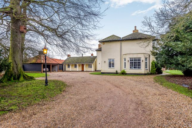 Thumbnail Detached house for sale in Newmarket Road, Barton Mills, Bury St. Edmunds