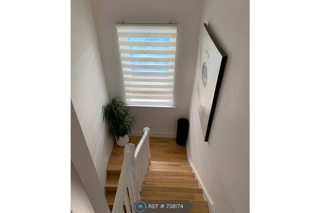 Staircase Leading To Bedrooms And Bathroom