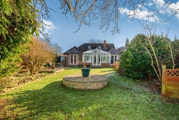 Thumbnail Detached house for sale in Avenue Road, Farnborough