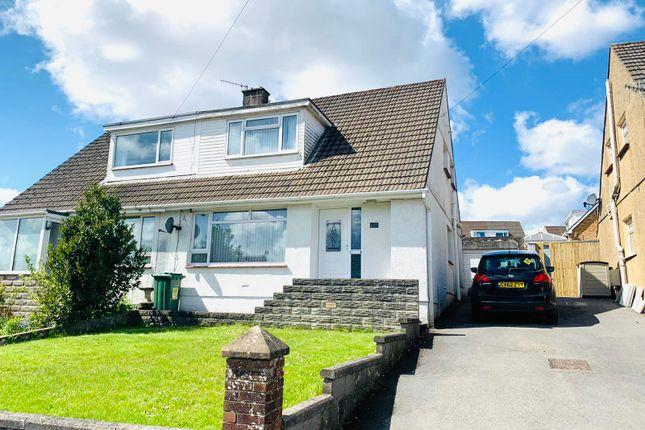 Thumbnail Semi-detached house for sale in Cleviston Park, Llanelli