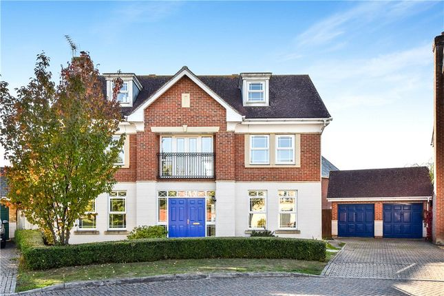Thumbnail Detached house for sale in Crofters Close, Deepcut, Camberley, Surrey