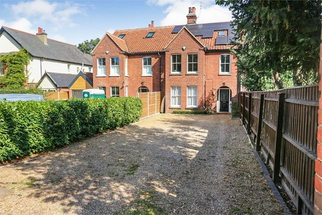 Thumbnail Town house for sale in Mile End Road, Norwich, Norfolk
