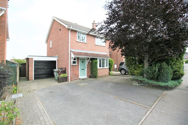 Thumbnail Detached house for sale in Nottingham Drive, Wingerworth, Chesterfield