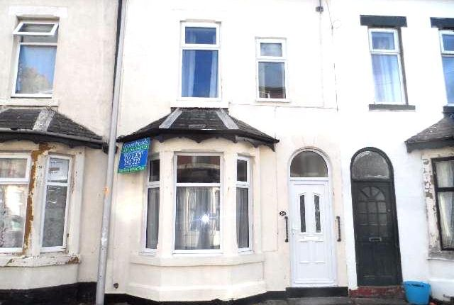 Thumbnail Terraced house to rent in Garden Terrace, Blackpool