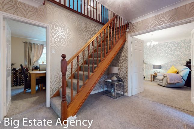 Thumbnail Detached house for sale in Gala Close, Broughton, Chester