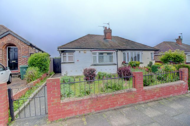 Thumbnail Bungalow for sale in Crowland Avenue, Grimsby