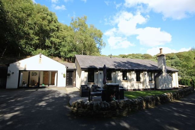 Thumbnail Detached bungalow for sale in Gelder Clough Cottage, Ashworth Valley, Heywood
