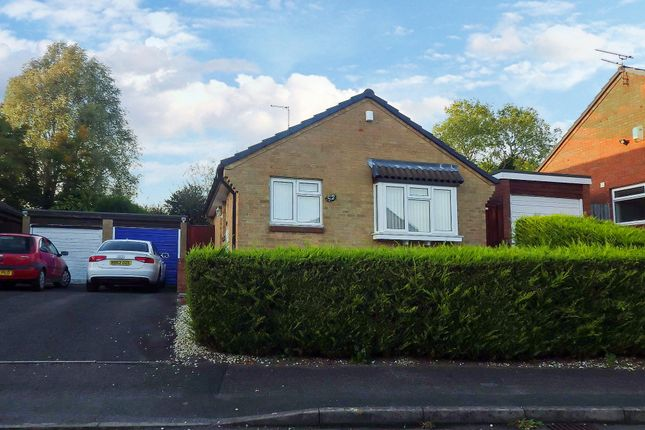 Thumbnail Detached bungalow for sale in Rycote Close, Swindon, Wiltshire
