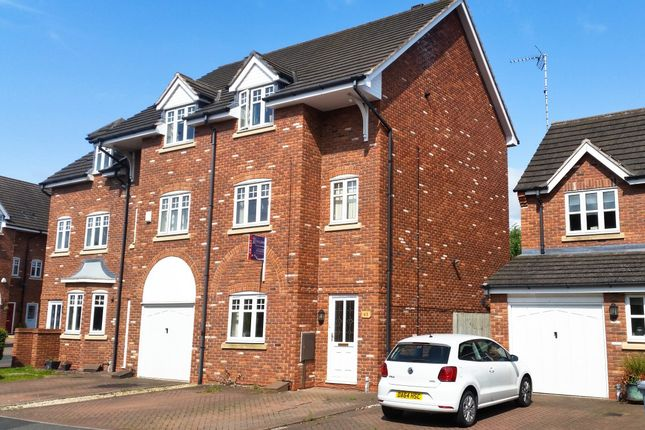 Thumbnail Town house to rent in Haydn Jones Drive, Stapeley, Nantwich