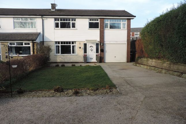 Thumbnail Semi-detached house for sale in Cemetery Road, Royton, Oldham