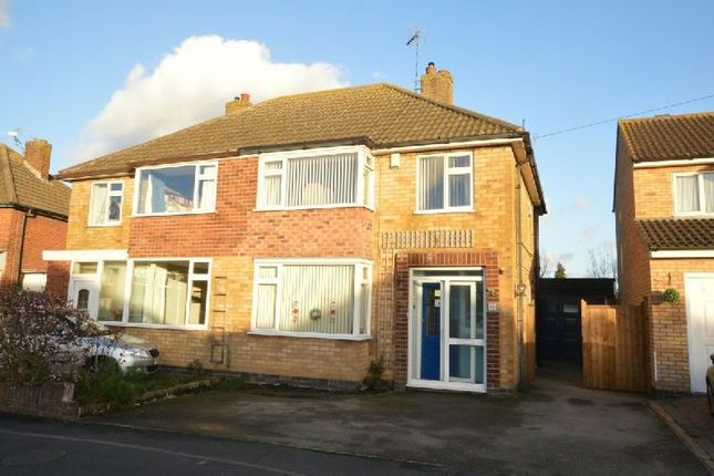 Thumbnail Semi-detached house for sale in Edgeley Road, Countesthorpe, Leicester