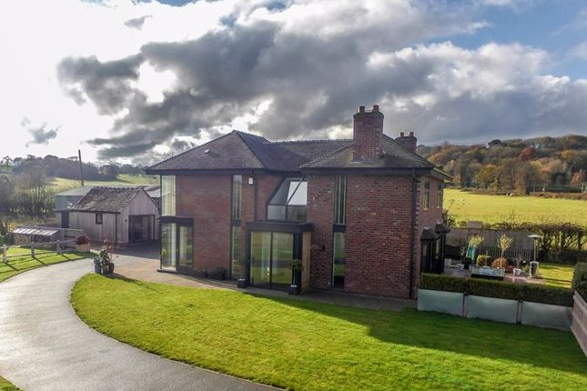 Thumbnail Detached house for sale in Bar Hill, Madeley, Crewe