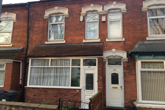 Thumbnail Terraced house for sale in Frederick Road, Stechford