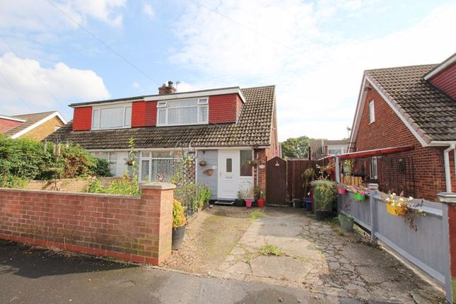 Thumbnail Semi-detached bungalow for sale in Hawkins Way, South Killingholme, Immingham