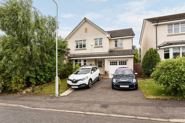 Thumbnail Detached house for sale in Dover Drive, Dunfermline, Fife